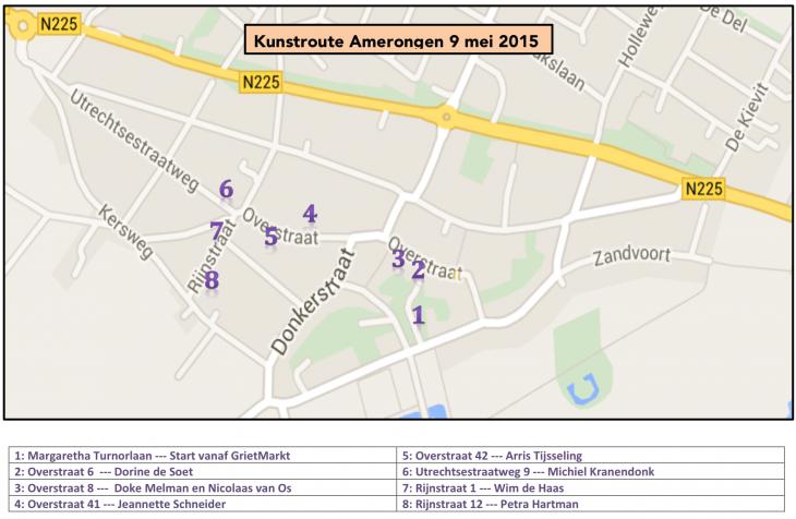 Amerongen-map
