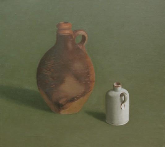 grote en kleine kruik, 50 bij 55 cm 2008 015