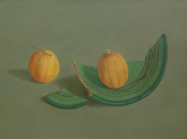 Scherven en kleine citroenen